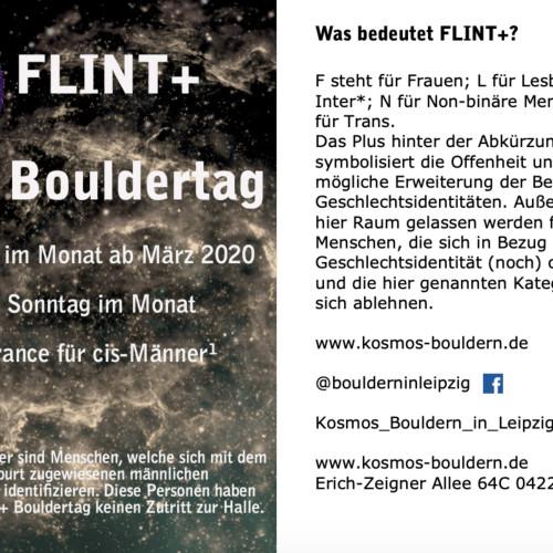 FLINT-Aushang